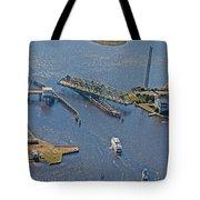 Topsail Swing Bridge Tote Bag