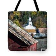 Topsham Village Vermont Tote Bag