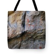 Toquima Cave Pictographs Tote Bag