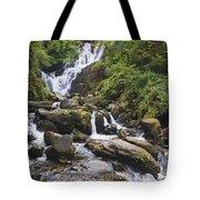 Torc Waterfall In Killarney National Tote Bag