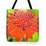 Torch Ginger Aloha Tote Bag