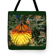 Torch Lily And Monarch Tote Bag