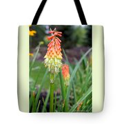 Torch Lily Flower Tote Bag