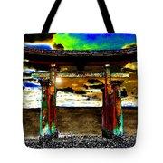 Torii Sunrise Tote Bag