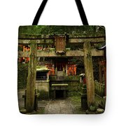 Toriis At Inari Tote Bag