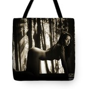 Toriwaits Nude Fine Art Print Photograph In Black And White 5098 Tote Bag