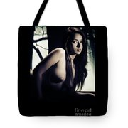Toriwaits Nude Fine Art Print Photograph In Black And White 5101 Tote Bag