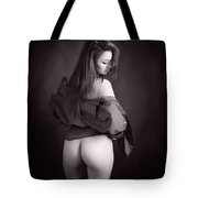 Toriwaits Nude Fine Art Print Photograph In Black And White 5103 Tote Bag