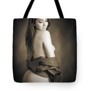 Toriwaits Nude Fine Art Print Photograph In Black And White 5104 Tote Bag