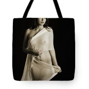 Toriwaits Nude Fine Art Print Photograph In Black And White 5108 Tote Bag