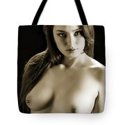 Toriwaits Nude Fine Art Print Photograph In Black And White 5109 Tote Bag