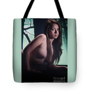 Toriwaits Nude Fine Art Print Photograph In Color 5074.02 Tote Bag