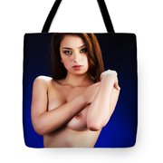 Toriwaits Nude Fine Art Print Photograph In Color 5080.02 Tote Bag