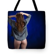 Toriwaits Nude Fine Art Print Photograph In Color 5085.02 Tote Bag