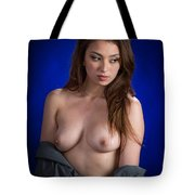 Toriwaits Nude Fine Art Print Photograph In Color 5087.02 Tote Bag