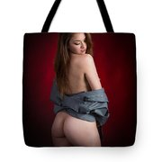 Toriwaits Nude Fine Art Print Photograph In Color 5089.02 Tote Bag