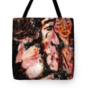Torn Between Two Lovers Tote Bag