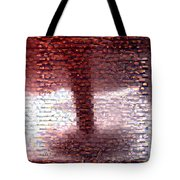 Tornado From Sunsets Mosaic Tote Bag