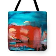 Tornado Weather Tote Bag