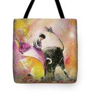 Toro Tenderness Tote Bag