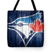 Toronto Blue Jays Barn Door Tote Bag