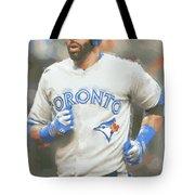 Toronto Blue Jays Jose Bautista Tote Bag