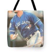 Toronto Blue Jays Troy Tulowitzki Tote Bag