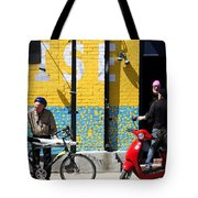 Toronto Characters Tote Bag by Joanna Madloch