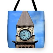 Toronto Clock Tower Tote Bag