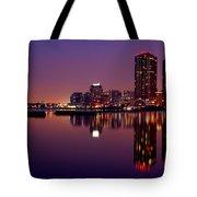 Toronto Cracking Dawn Tote Bag