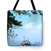 Toronto Island Ferry Tote Bag