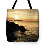 Toronto Lakeshore Vortex - Tote Bag
