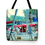 Toronto Nautical Tote Bag