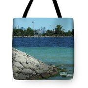 Toronto Shoreline Tote Bag
