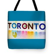 Toronto Sign In Muted Colours Tote Bag