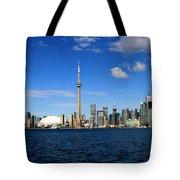 Toronto Skyline 26 Tote Bag