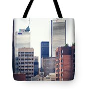 Toronto - Skyline Tote Bag