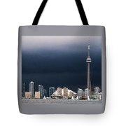 Toronto Skyline Tote Bag