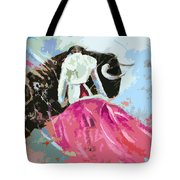 Toroscape 34 Tote Bag by Miki De Goodaboom