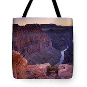 Toroweap Overlook Sunset Tote Bag