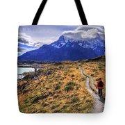 Torres Del Paine 21 Tote Bag