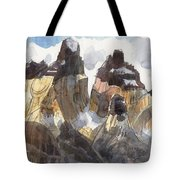 Torres Del Paine, Chile Tote Bag