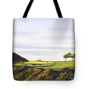 Torrey Pines South Golf Course Tote Bag by Bill Holkham