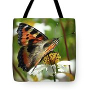 Tortoise Butterfly Tote Bag