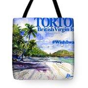 Tortola British Virgin Islands Shirt Tote Bag