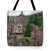 Torturm And Seltenleer Heidelberger Schloss Tote Bag