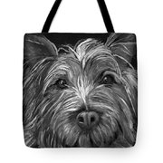 Tosha The Highland Terrier Tote Bag