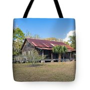 Tosohatchee Cattle Ranch In Central Florida Tote Bag
