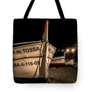 Tossa De Mar By Night Tote Bag