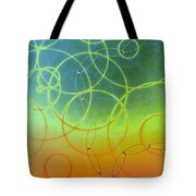 Tossed Tote Bag